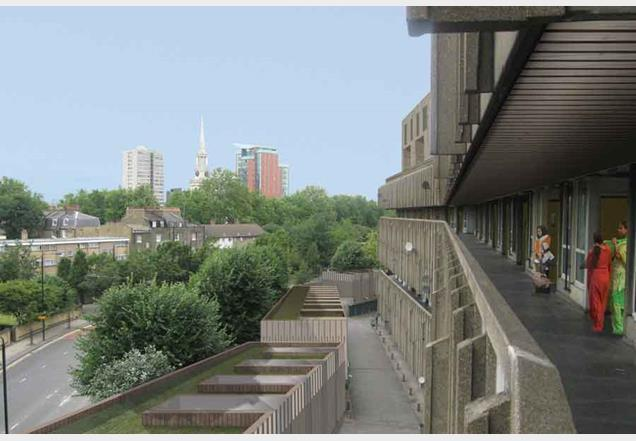 Robin Hood Gardens, east London, Sarah Wigglesworth